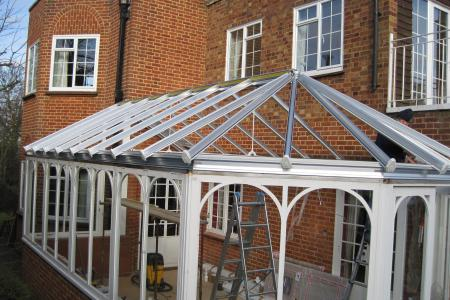 Replace Timber Conservatory Roof